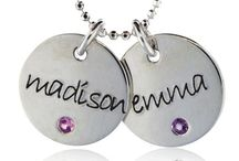 mommy jewelry / Personalized jewelry for moms  / by my retro baby