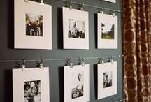 Wall Art / I love me a good gallery wall!  Lots of ideas for arrangements and display.