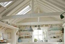inspiring interiors| vaulted ceilings