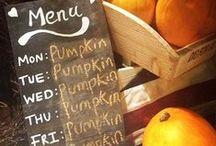 Autumn ~ Fall ~ Pumpkin  / Beautiful #fall #home decor for #autumn.  Did we mention we love #pumpkins #orange #yellow #bronze #brown #purple #gold #corn #maze #recipes #pumpkincarving #crafts