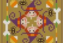 cross stitch - halloween / by Beth Moorhead