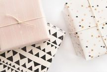 gift wrapping / gift wrap ideas