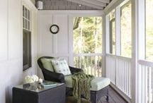screened porch / by Cara M