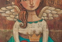 angels most beautiful and with messages too / by Mary Weidman