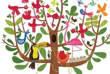 TWeEt TwEeT the BiRdS SiNg / BIRDS are always beautiful or funny. :0) I use lots of birds in my work. Mary lou and whimsy too     / by Mary Weidman