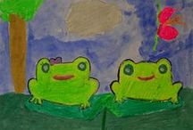 Frogs Are Green / Frogs Are Green is an awareness organization located in Jersey City (Hudson County), New Jersey. Our mission is to help save frogs and amphibians from extinction by spreading awareness and engaging children with our annual kids art contest and new curriculum. We also have an annual photo contest for adults to participate. / by Susan Newman Design Inc