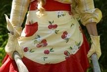 Sewing - Aprons / Potholders / etc / Home Ec Teacher fetish / by Leila Hudson