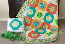 Baby Quilts & Kid Quilts / Quilt patterns, designs and kits for kids of all ages, including baby quilts, toddler quilts, quilts for pre-teens and quilts perfect for kids going off to college.