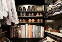 Interior Inspiration: Closets / Can you ever have enough closet space? / by tamara rasberry