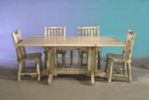 Rustic Furniture / Rustic is usually the preferred style of decorating for individuals and families living in cabins or cottages. The natural elements it uses seems to flow well the country furnishings found in such homes.