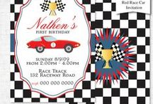 Race Car Party Ideas / Give your Race Car Driver a fabulous Car party with our Race Car birthday ideas board. Our Race Car birthday board is full of Race Car party games, activities and Food ideas.