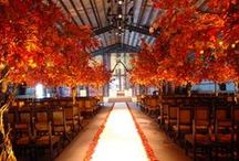 Fall Inspiration. / Planning a wedding this fall? This is our board of ideas for the perfect Fall wedding!