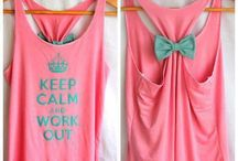 Workout clothes / by Alyssa Stanford