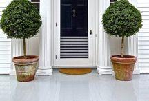 DOORS, PORCHES + EXTERIORS / by Amanda Joy