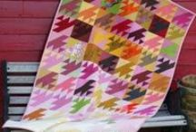 """Tradition with a Twist Quilts / These modern quilts have traditional origins. Can you spot the """"twist""""?"""
