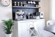 Coffee Bar Ideas / Coffee bar idea and DIY.