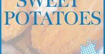 Sweet Potatoes / Get sweet potato recipes any way you like them; in sweet potato fries, baked, mashed, or roasted.  Also, check out recipes for healthy sweet potatoes.