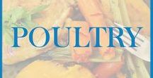 Poultry / Recipes for dishes containing poultry (chicken, turkey, hens) as a main ingredient.