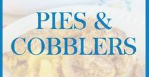 Pies and Cobblers / Delicious pie recipes and cobbler recipes.