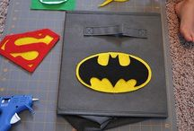 super hero party / by Clare *The Home She Made*