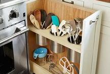 Organized Home / Great ideas to contain, arrange, and de-clutter