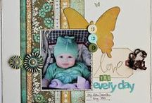 Scrapbook Pages / by Christina Crawford