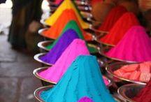 Patterns & Pops of Color