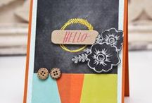 Stationery projects / Subscribe to the Studio Calico Stationery kit today: http://www.studiocalico.com/kits/brimfield/stationery-kit/subscribe