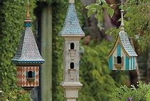Birdhouses and Butterfly Houses.