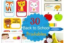 Back to School / Back to school products, crafts, tips and activities