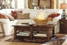 comfy country living room / by Byron Neeley