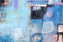Mark Bettis / A former Chicago native, Mark Bettis received his training from Ringling School of Art+Design. His paintings are a synthesis of color, line and texture. He also draws influence from the surroundings of his Asheville, NC studio.