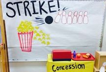 Bowling Preschool Theme / Activities and ideas for a bowling preschool theme. Great for celebrating National Bowling Day in August!