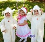 Cute Costume Ideas for Kids and Families / Need costume inspiration? These are fun ideas for children and families.