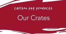 Our Crates / We make different sizes of crates to keep any pet breed safe.