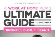 work at home mom resources #wahm / All things #WAHM friendly! Cool #mom picks & resources! DIY blog, designer friendly fonts, create a logo, start your business, manage your team! / by Lisa Marcia