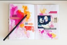 art journals / by Bonnie D