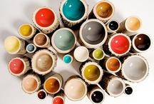 Ceramics / Made by the hand.