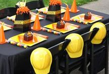 Construction Party! / I had a construction party for my son's 1st birthday - 14 years ago! It's was a blast!!!Build the best party ever with some of these fun ideas from Party Jumpers Inc in the Sarasota Bradenton area!  (941) 343-0370! #bouncehouse #obstaclecourse #birthday #sarasota #bradenton #construction