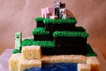 Minecraft Party! / Are your kids as crazy about Minecraft as mine are?  Here are some fun ideas for your next birthday!  Need a great inflatable to go with these?  Call Party Jumpers! (941) 343-0370 or visit us at www.partyjumpersinc.com
