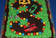 Race Car Birthday party! / My son's bedroom was a race car theme when he was a little guy, and now my youngest daughter LOVES racing games on her tablet.  Racing themed birthdays are made easy with these ideas!  Call me if you need a cool car themed bouncer in the Sarasota/Bradenton areas!   Party Jumpers  (941) 343-0370 www.partyjumpersinc.com   #racecar #birthday #bouncehouse #party #sarasota #bradenton
