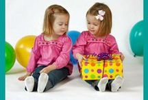 Twins Birthday Party! / Have double the fun at home? Congratulations!  Have a double fun party! Here are some great ideas!  If you are in the Sarasota or Bradenton area - please call Party Jumpers! We Bring the Party to YOU! (941) 343-0370 or www.partyjumpersinc.com
