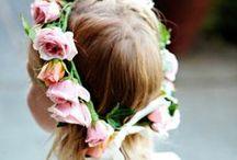 Wedding flower girls
