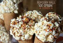 Popcorn Party! / Make your next party POP!  So many adorable ideas for this theme - the possibilities are endless! Baby Shower! Birthday! Movie Night! Wedding! School Function! Rent a popcorn machine and a bouncehouse from Party Jumpers and get things jumping! www.partyjumpersinc.com