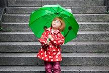Rainy Day Play / Don't let the rain keep you and your kids from having fun!