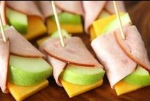 After-School Snacks / Easy snack ideas to keep your kids happy and content after school.