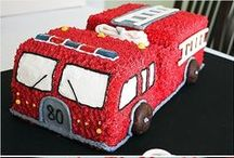 Firefighter Party! / Hottest party around! Check out these great ideas for a firefighters party! Here's some great ideas if you are having a birthday party, and your kid loves all things fire trucks!  If you are in the Sarasota or Bradenton areas - call Party Jumpers - We bring the Party!