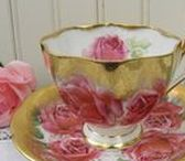 Queen Anne China / vintage Queen Anne china, teacups, and more!