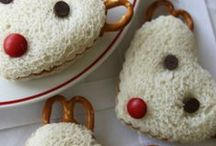 Winter Treats / Have fun with food and make some winter themed snacks!