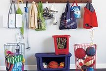Get Organized / Get organized and simplify your life.  Spend more time with family and less time worrying about clutter!